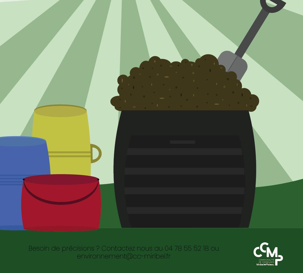 Distribution gratuite de compost gros calibre !