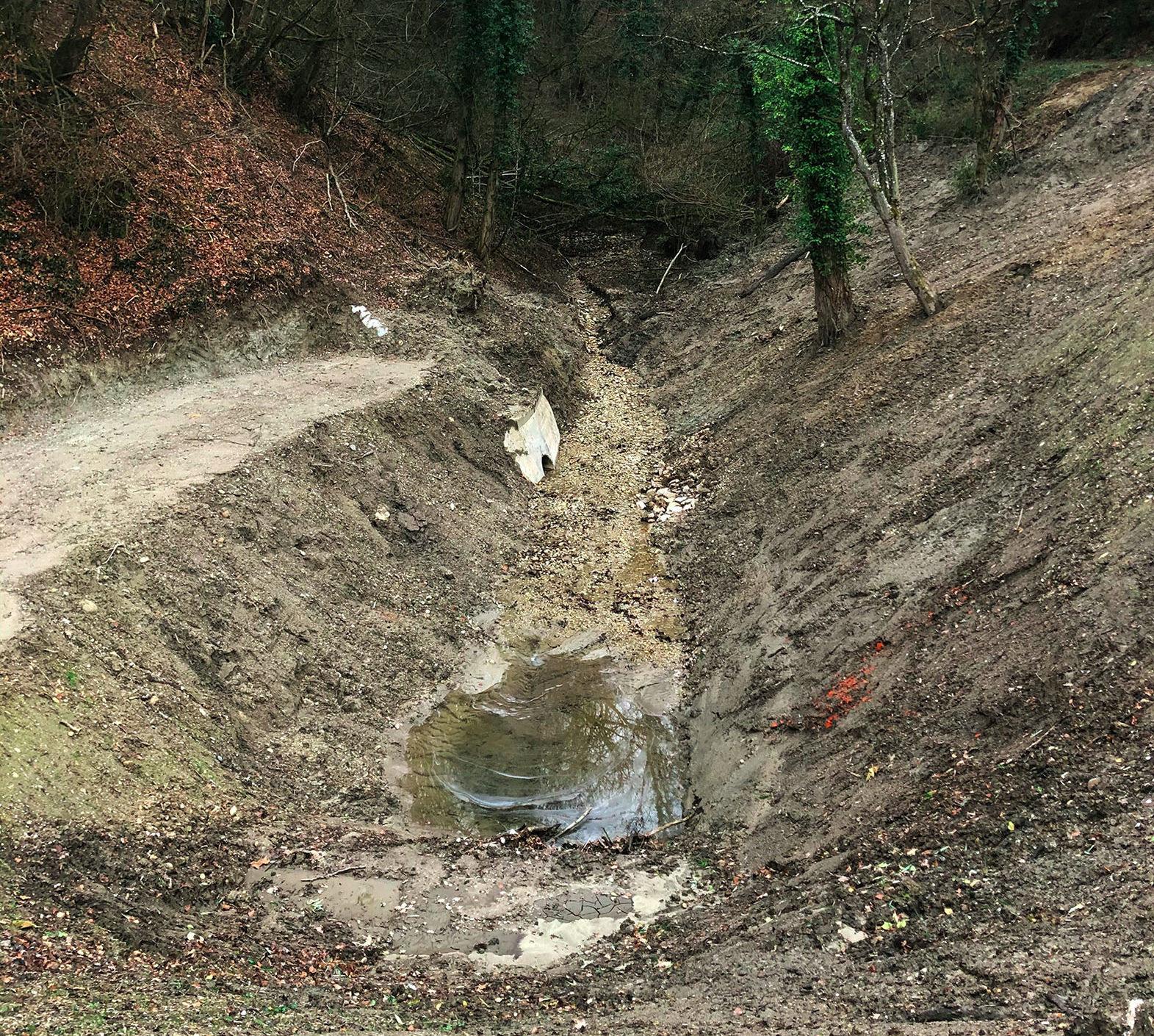 Fin des travaux de restauration du bassin du Molliet